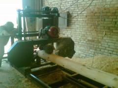 The machine combined (a power-saw bench + roundup)