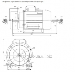 Common industrial electric motor with improved