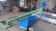 Screw conveyors in pipe, Ukraine