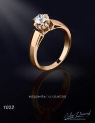 Ring of 1022 diamond