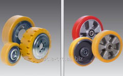 Wheels for warehouse equipmen