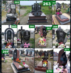 Памятник, украшения надгробные из лабрадорита