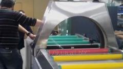 Horizontal obmotchik in streych (stretch) a film