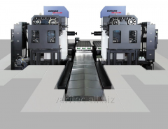 Horizontally boring-and-milling centers with ChPU