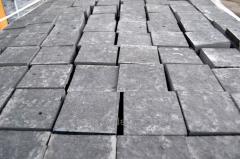 The stone blocks is cut heat-resistan