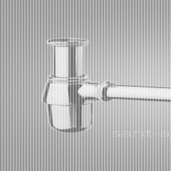 Siphon glass for a sink of Hansgrohe (52053000)