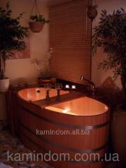 Hydromassage bathtub Blumenberg 151х73 flounder