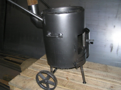The mobile furnace solid propellant - firewood,