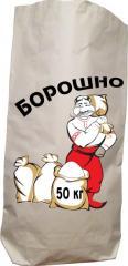 Packaging of wheat flour, Kiev