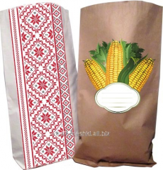 Packages from paper, paper bags, Kiev