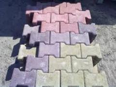 Тротуарная плитка от производителя. Изготовление