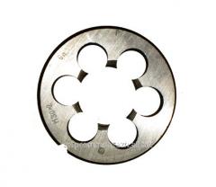 Плашка круглая М 30х2 материал 9ХС