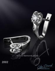 Earrings 2002/1 diamond