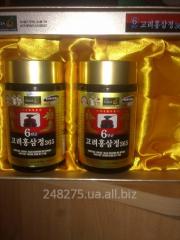 Экстракт красного корейского  шестилетнего жень