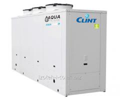 Чиллеры и реверсивные тепловые насосы с водяным охлаждением конденсатора и вынесенными конденсаторами