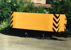 Шахтная вагонетка с открывающимся днищем ВДК