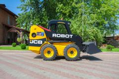 Auto-loader pass frontal JCB Robot 160