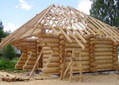 Дома деревянные, дома срубы в Украине
