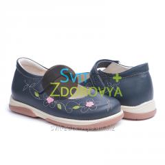 Ортопедические туфли для девочек Memo Cinderella