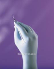 Gloves, non-sterile powder-free latex dental