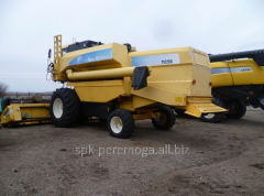 Combine New Holand TC-56. Agricultural machinery
