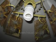 Лампа люминесцентная под вкручивающейся...