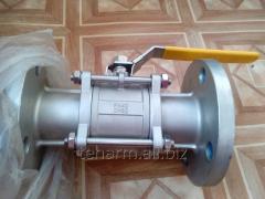 Corrosion-proof sharovy DN50 PN40 crane 11nzh01pf