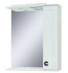 Шкаф зеркало в ванную Eliza-70  белый