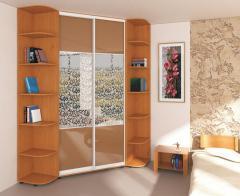 Angular sliding wardrobe Phoenix standard 2100