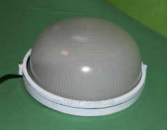 The lamp on LED-STREET-10 light-emitting diodes