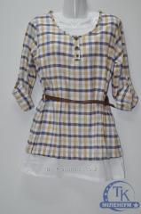 Туника женская (ткань хлопок) размеры 42-48 BERKSU