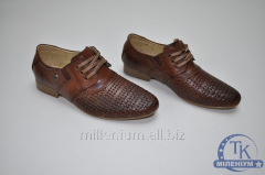 Туфли для мальчика Constanta кожаные цв. рыжий