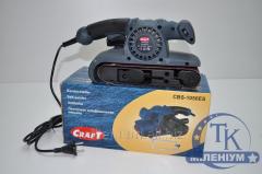 Ленточна электрошлиф машина CRAFT CBS-1050ES