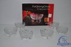 Набор креманок из 6 шт. FaQiang Glass W109