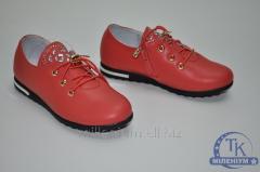 Туфли для девочки Happy Keni цвет красный с
