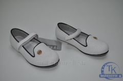 Туфли для девочки KELLAIRENG цв.белый KLF-TZ91