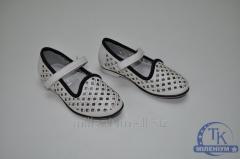 Туфли для девочки KELLAIRENG цв.белый KLF-TZ93