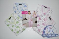 Пижама женская (штаны+кофта+майка) MISS VICTORIA