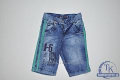 Шорты MUTLU для мальчика джинсовые возраст от 3 до