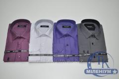 Рубашка мужская (slim fit) PIER CARLINO Точка