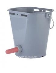 Bucket for feeding calves, plastic