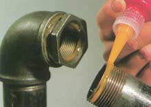 Glue compound of the Anaterm brand