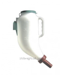 Feeding bottle with dry food