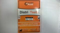 Teeth acrylic Distri Teeth (1 garnit. in upak.)