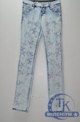 Джинсы стрейчевые женские UNO размер 25-29 U1521