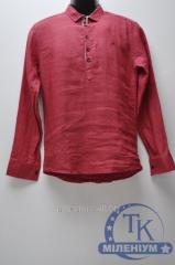 Рубашка-шведка мужская однотонка ZORO
