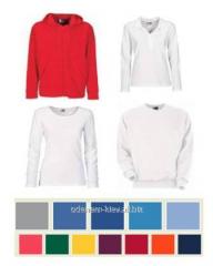 Promoodezhda: t-shirts, undershirts, shirts, pol