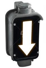 Указатели светодиодные с вертикально светящимися