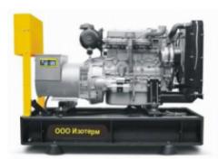 Дизельный генератор (электростанция) INTER, ...