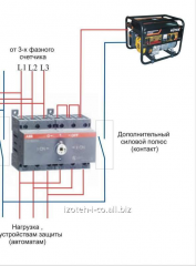 The single-phase diesel generator for a